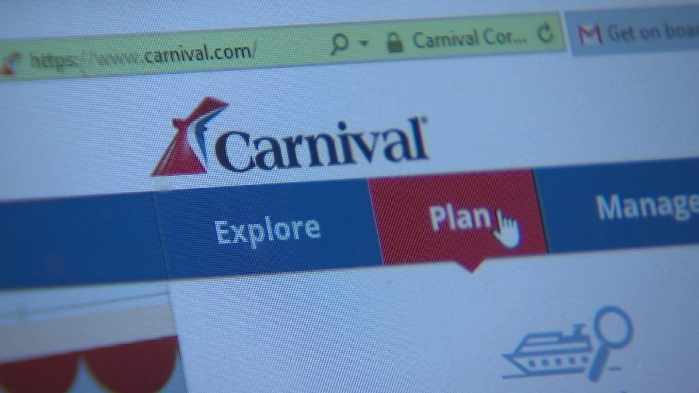 """Muala says he did no click the """"Special Assistance"""" link on Carnival's website because he did not think he needed to. (Source: 3TV)"""