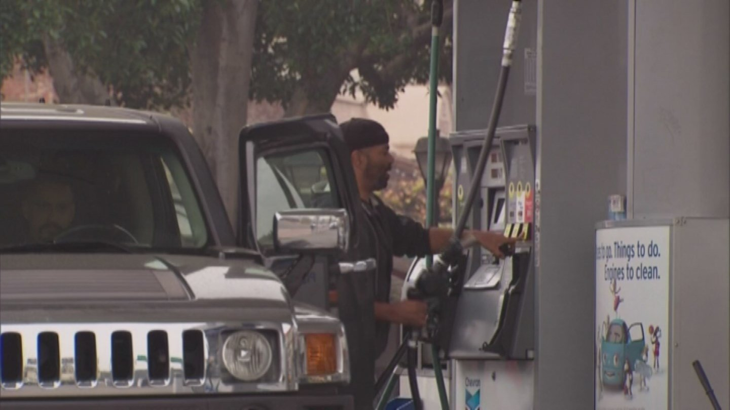 Lower gas prices are a welcome relief for drivers across Arizona. (Source: 3TV)