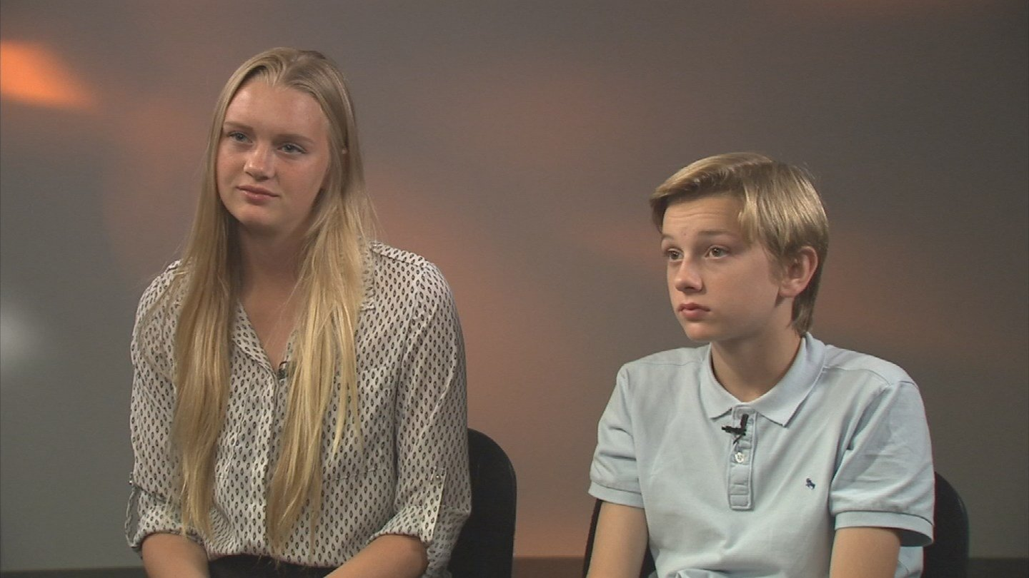 Elizabeth Vacca is now 17; Christopher is 13. (Source: 3TV)