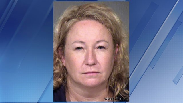 Earlier this month, Maricopa County Sheriff's Office SWAT officers busted an illegal marijuana grow house and arrested Cynthia Drey, 47. (Source: 3TV)