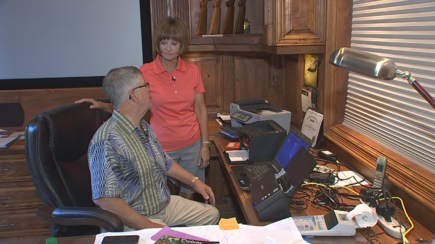 Chuck Tompkins thought Adele tickets would be the perfect birthday gift for his wife, Linda. (Source: 3TV)