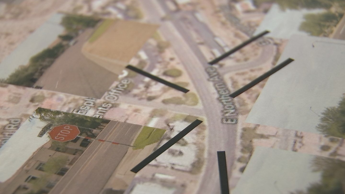 There is concern about how dangerous the intersection of 18th Street and Northern Avenue is. (Source: KPHO/KTVK)