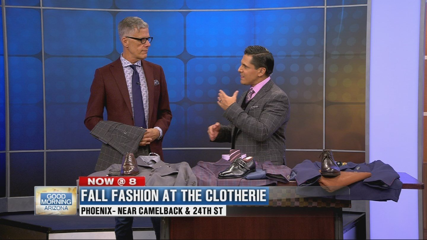 Tom Simon from The Clotherie shared some fall fashion trends. (Source: 3TV)