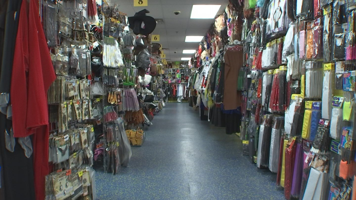 Most stores won't allow customers to return many Halloween items. (Source: 3TV)