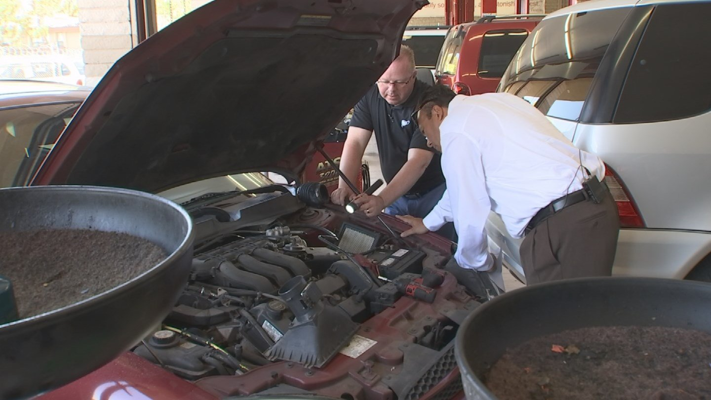 A regular check of the engine cane prevent some expensive repairs. (Source: 3TV)
