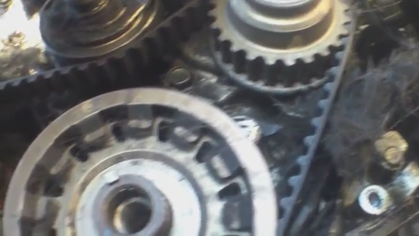 Checking and replacing the timing belt cars are steps to avoid paying big time down the road. (Source: 3TV)