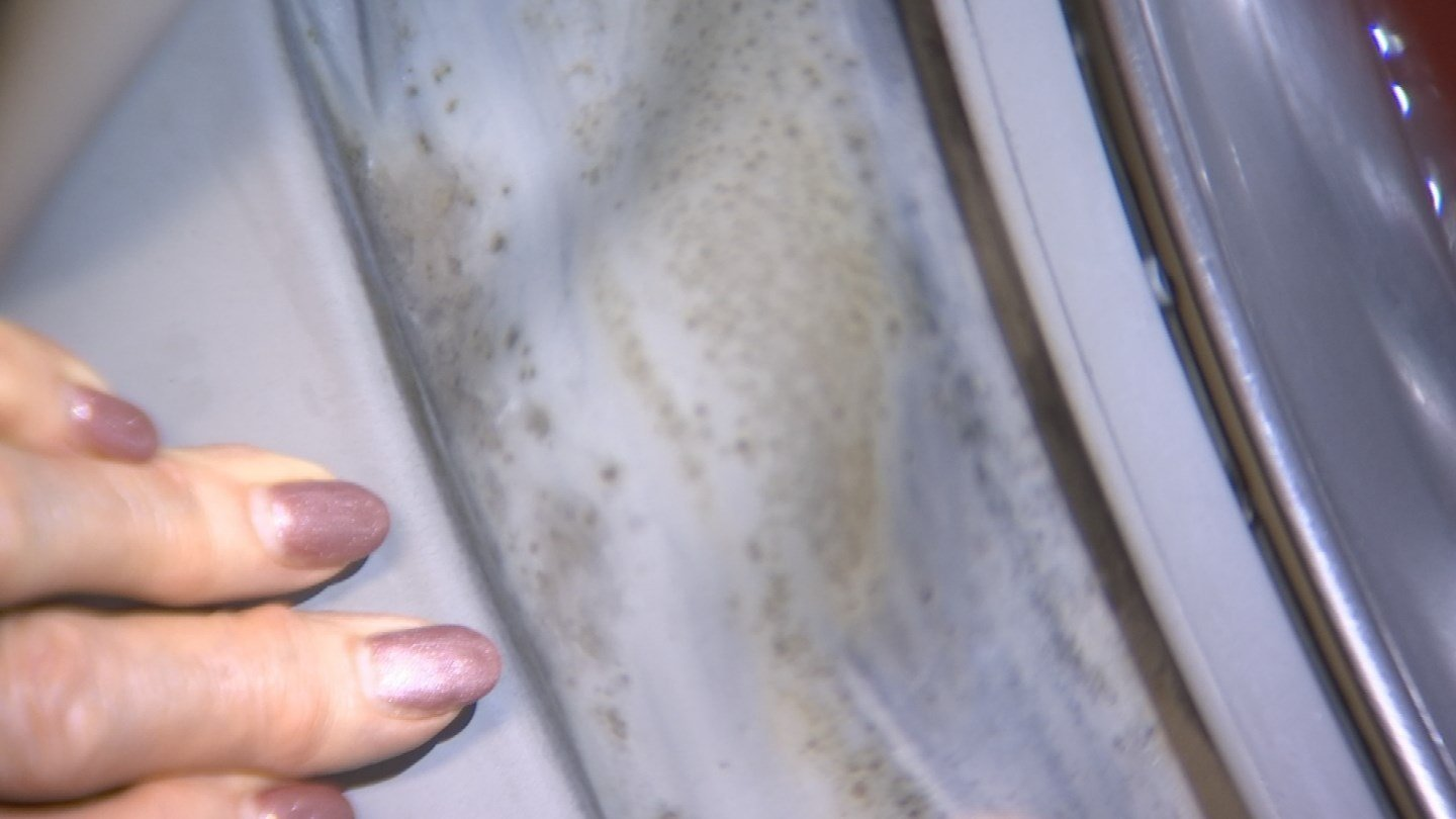 There's apparently mold in Azure's front-load washer and she wants the company to do more to fix it. (Source: 3TV)