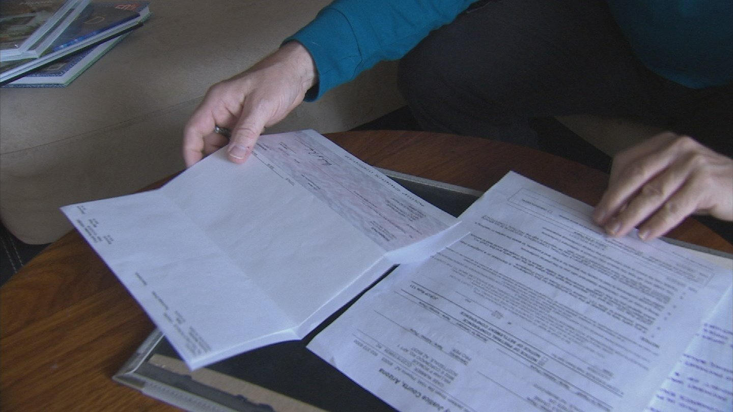 A Valley man said he was being sued for a bill but he said he paid it back. (Source: 3TV)