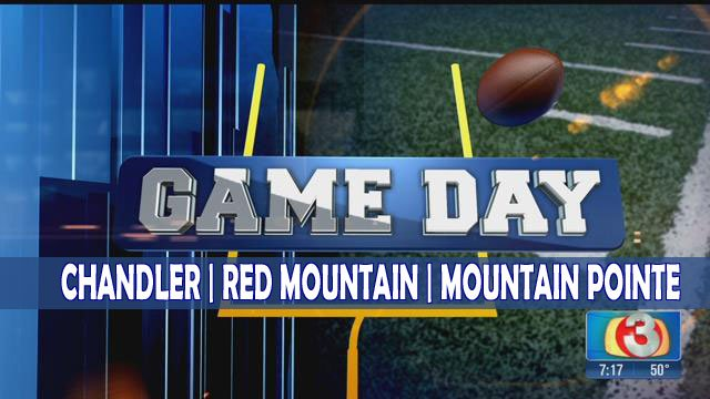 We visited Chandler, Red Mountain and Mountain Pointe high schools for Game Day! (Source: 3TV)