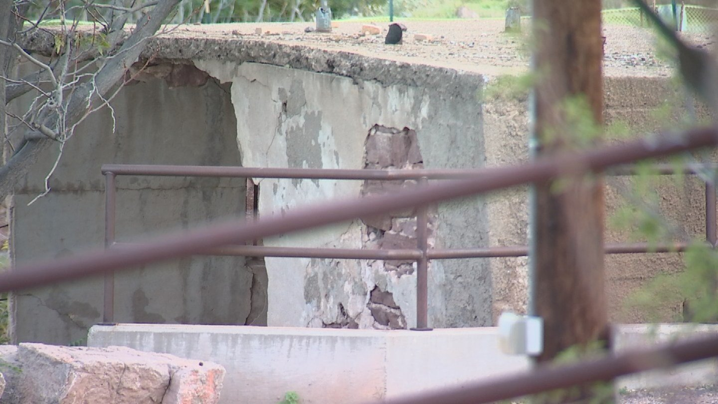 Today, the historic structure sits about 225 feet from where it once stood. (Source: 3TV)