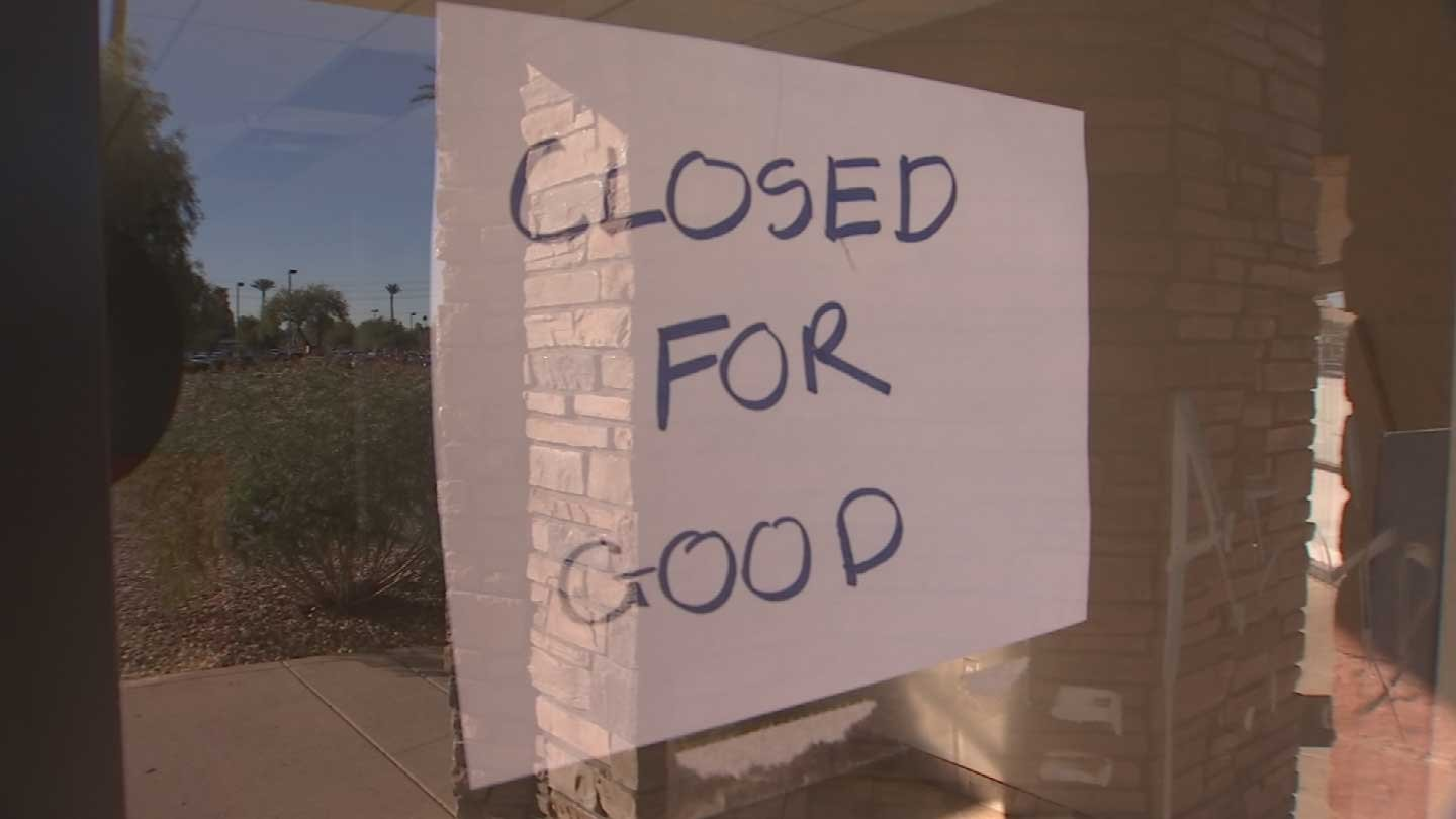 The former owner of a nail salon said she just couldn't afford to keep the business afloat and closed down. (Source: 3TV)