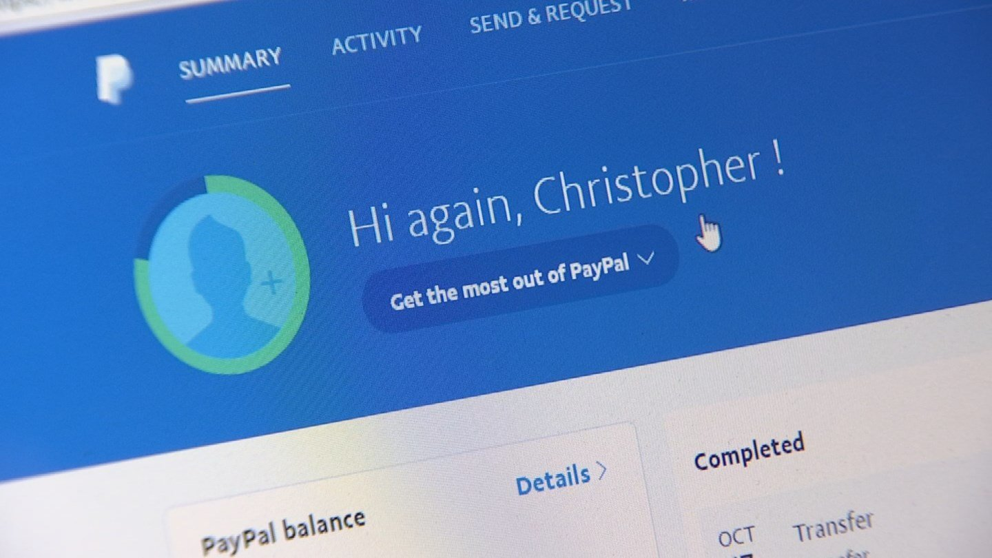 Chris Williams says he has use PayPal for about five years. (Source: 3TV)