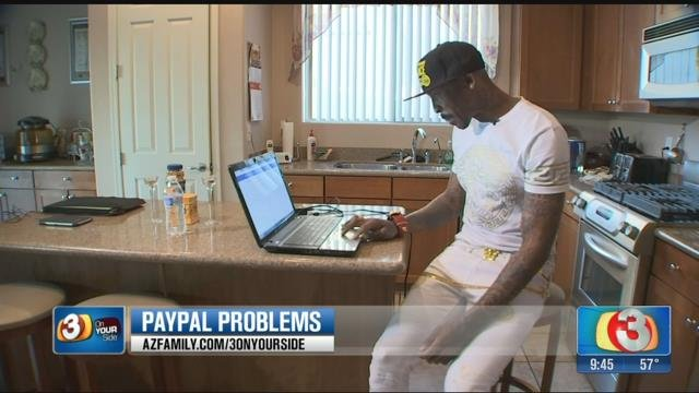 Williams said he opened his PayPal account under another name, but insists it has never been a problem. (Source: 3TV)