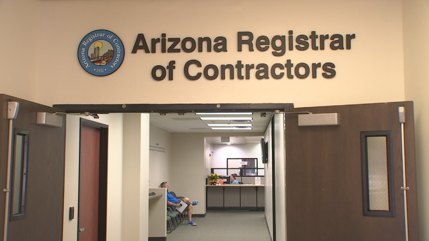The Arizona Registrar of Contractors have a fund that can be pooled out to homeowners if needed. (Source: 3TV)