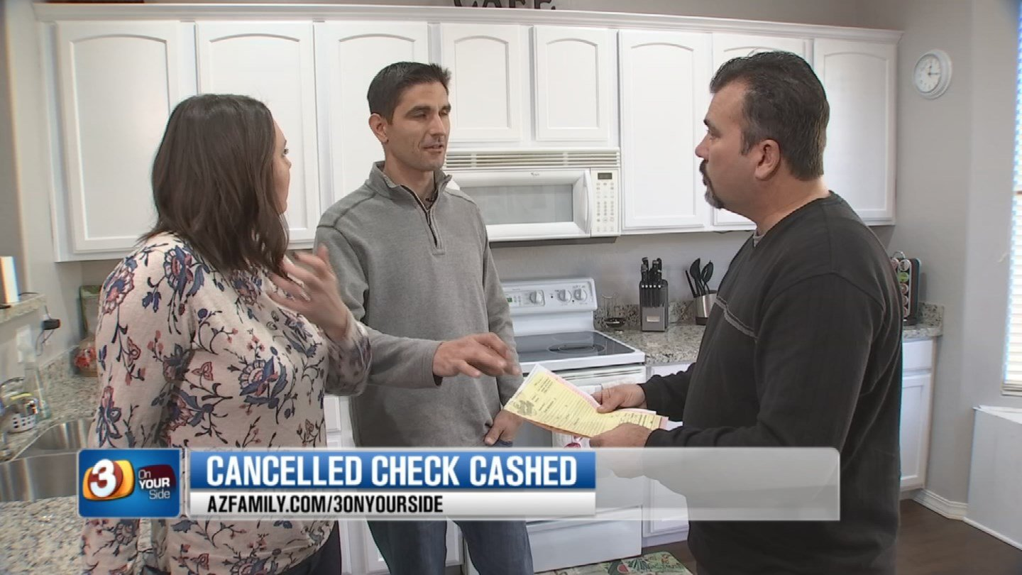 The Naugles are thankful to 3 On Your Side for getting them their money back. (Source: 3TV)