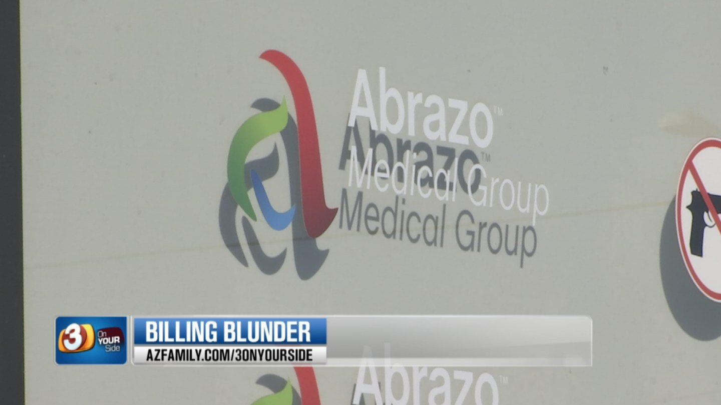 Abrazo Medical Group said Patterson's check went to collections instead of the insurance group. (Source: 3TV)