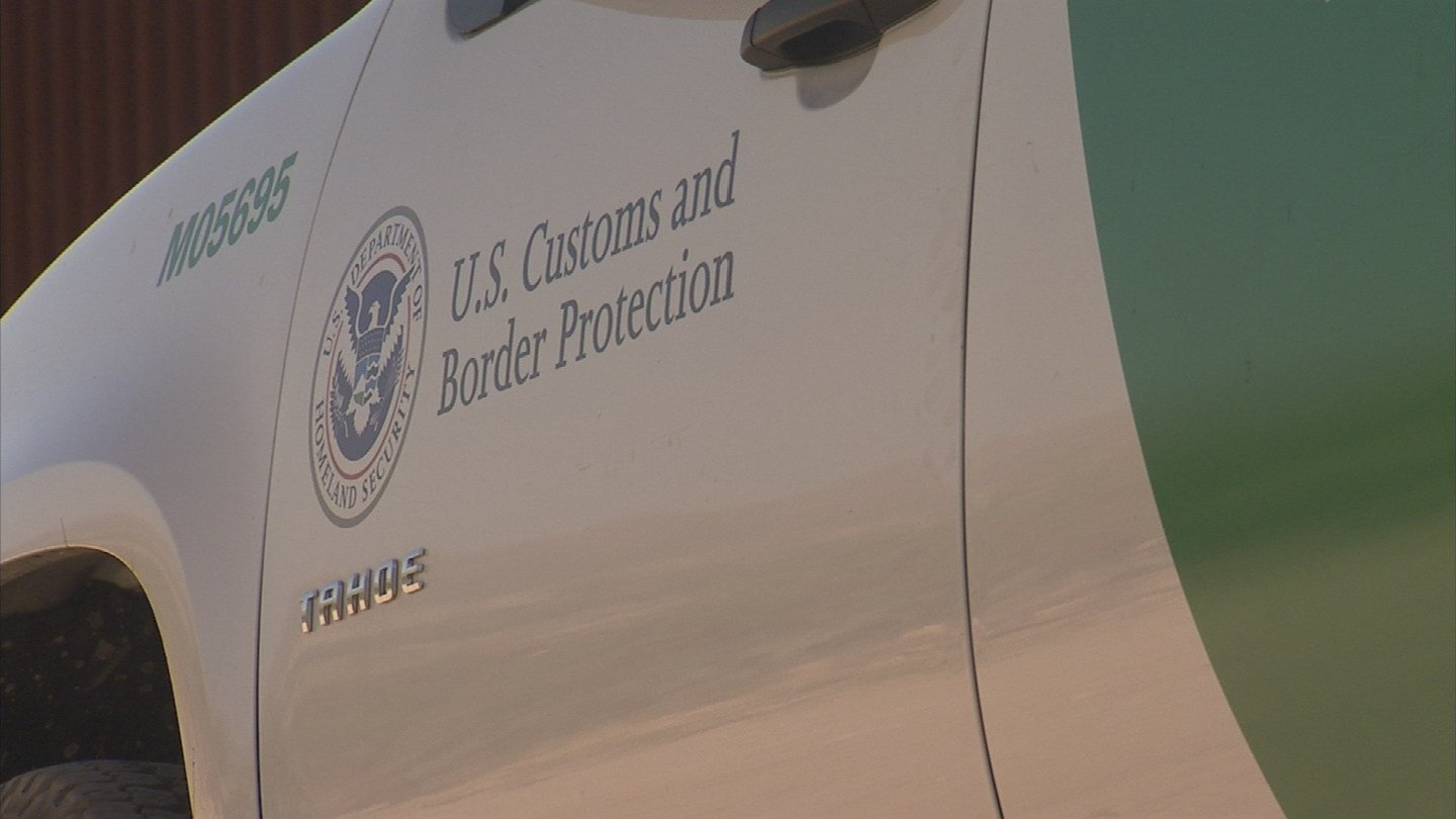File photo of a Border Patrol vehicle. (Source: 3TV/CBS 5)