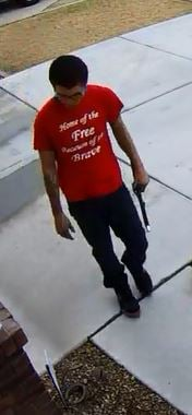 Police said this is a surveillance picture of the suspect. (Source: Scottsdale Police Department)