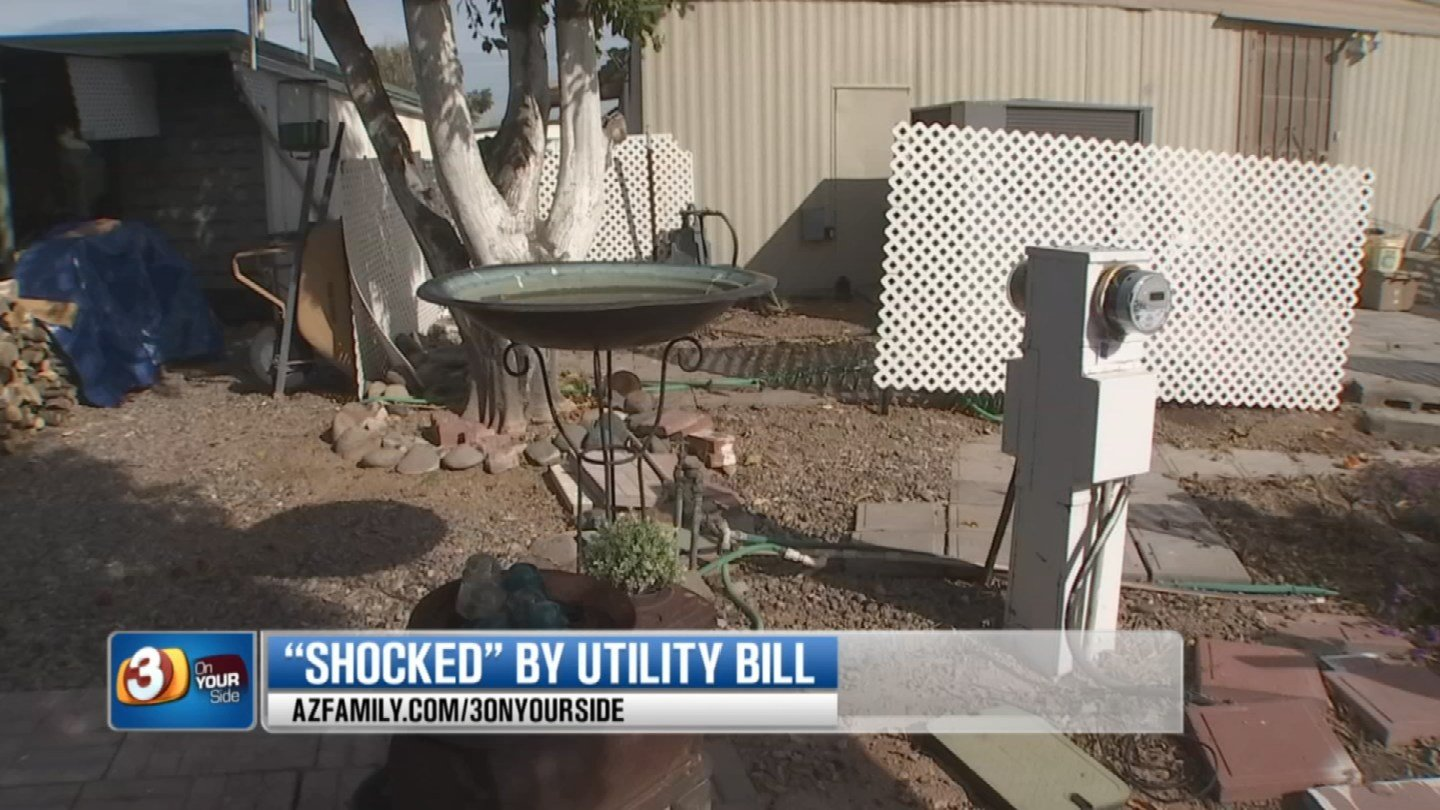 APS said a faulty meter undercharged Etter and he had to pay the difference. (Source: (3TV)