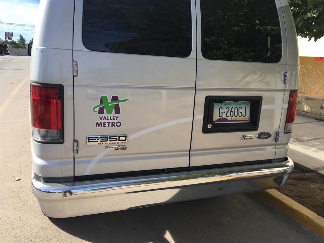 This Valley Metro van was reported stolen in October. (Source: 3TV/CBS 5)