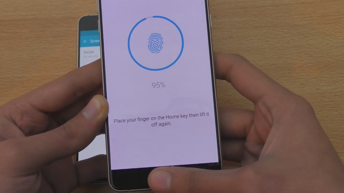 Some hackers are using pictures from photos to replicate a fingerprint to get into secure phones. (Source: 3TV)