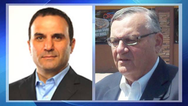 Sheriff Paul Penzone and former Sheriff  Joe Arpaio (Source: 3TV/CBS 5 file photo)