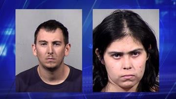 Ryan Adam Morris and Veronica Marie Diaz (Source: Maricopa County Sheriff's Office)