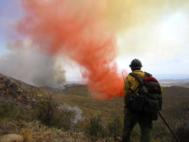 The Yarnell Hill Fire on June 30, 2013. (Source: 3TV/CBS 5)