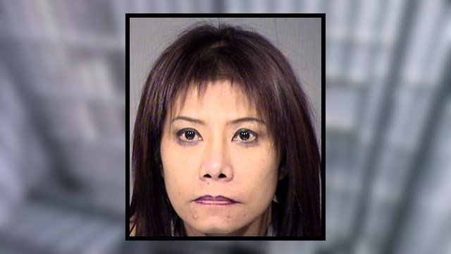 Booking photo of Patcharin Koibuchi. (Source: Maricopa County Sheriff's Office)