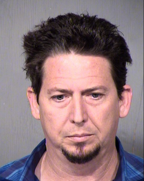 Booking photo of Erik Christopher Dunham, 46. (Source: Maricopa County Sheriff's Office)