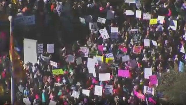 Women's March on Phoenix (Source: 3TV/CBS 5)