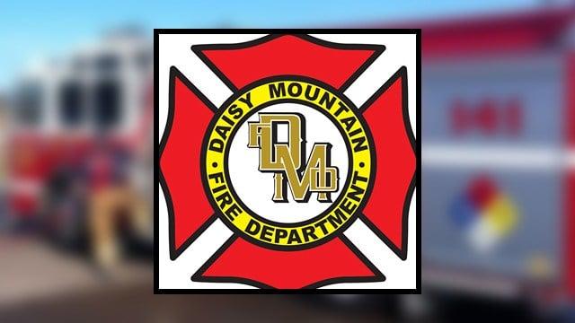 (Source: Daisy Mountain Fire Department)