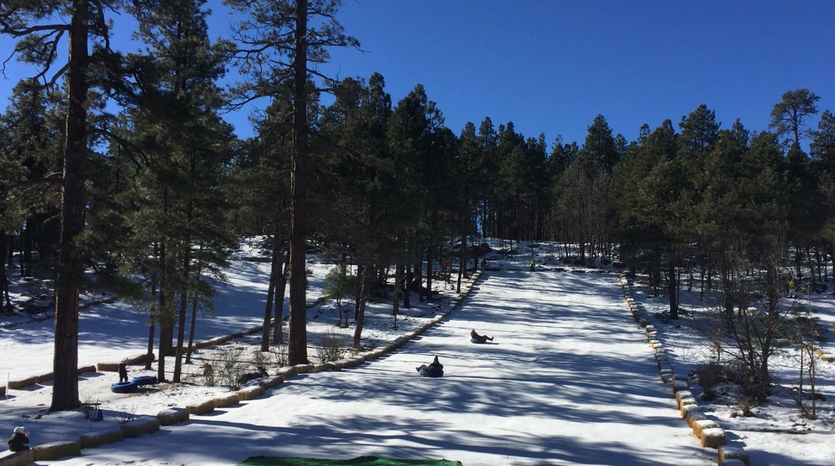 Flagstaff Snow Park on Jan. 19. (Source: Flagstaff Snow Park)