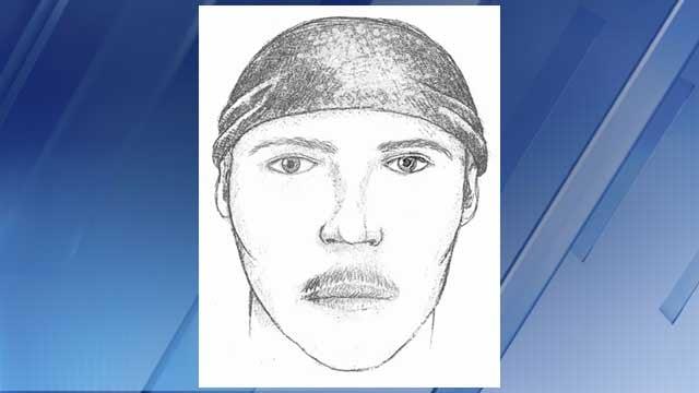 Suspect sketch (Source: Glendale Police Department)