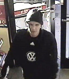 Surveillance image of the robbery suspect. (Source: Yavapai County Sheriff's Office)