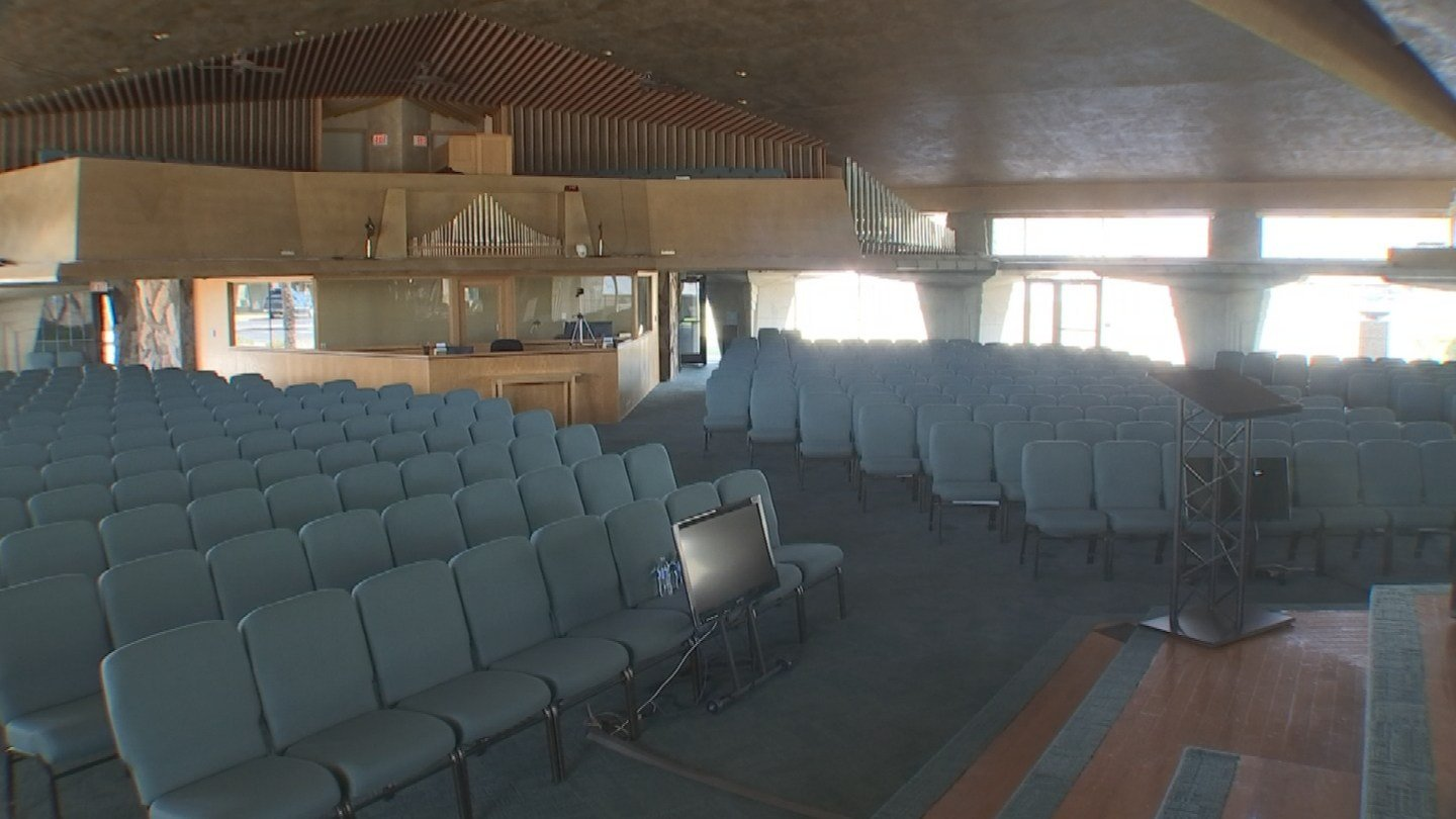 First Christian Church handed over $5,700 to Custom Church Interiors for chairs but the business closed. (Source: 3TV)