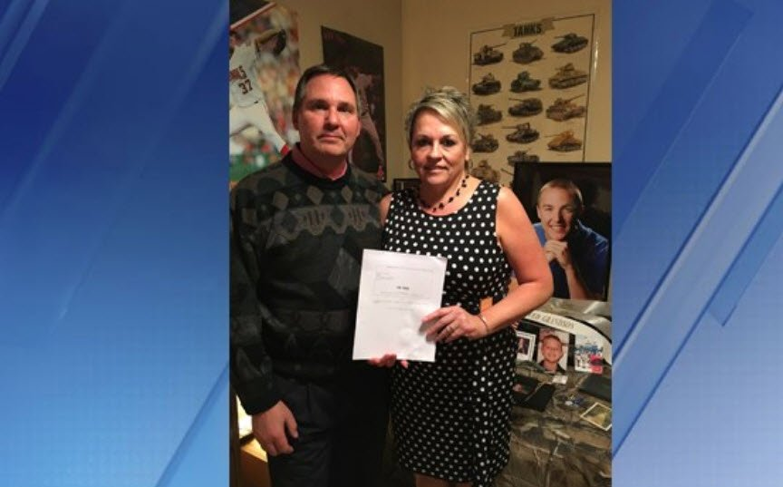 "Tana Smith and her husband Steve are hoping to get ""Joe's Law"" passed in honor of their son, Joe. (Source: 3TV/CBS 5)"