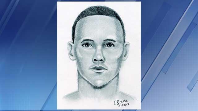 Sketch of sexual assault suspect (Source: Mesa Police Department)