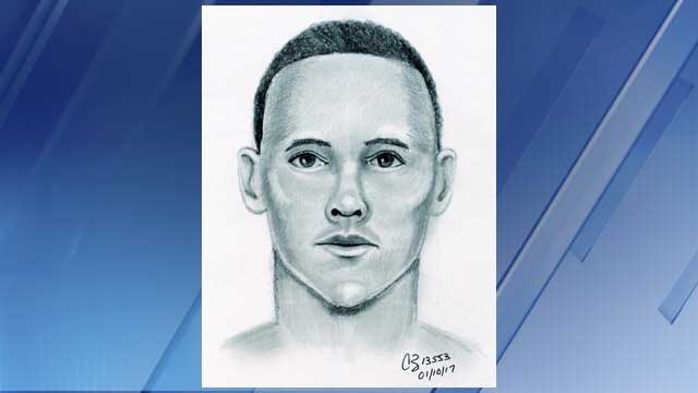 Sketch of sexual assault suspect (Source: Mesa Police Department)