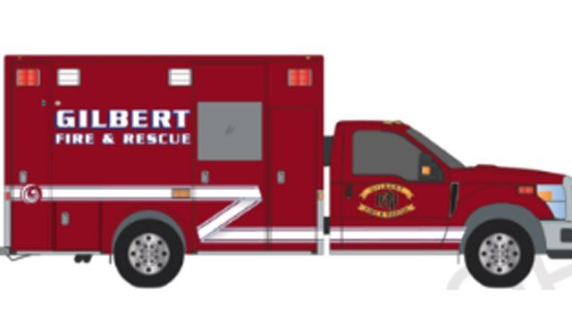 Artist's rendition of Gilbert's new response vehicle. (Source: Gilbert Fire & Rescue)