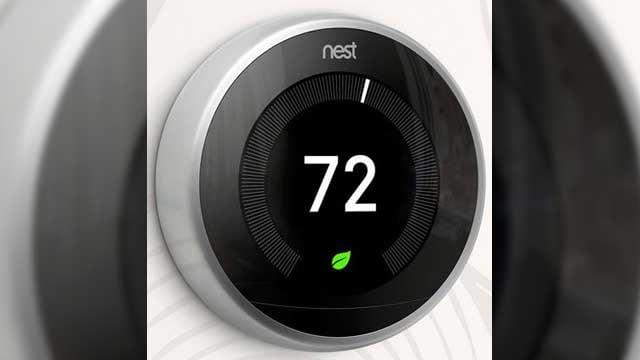 Nest Learning Thermostat (Source: Nest.com)