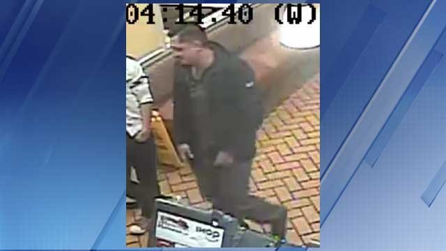 Another view of one of the suspects who allegedly robbed two IHOP customers in the parking lot. (Source: Silent Witness)