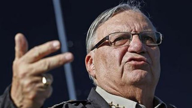 Former Maricopa County Sheriff Joe Arpaio. (Source: The Associated Press)