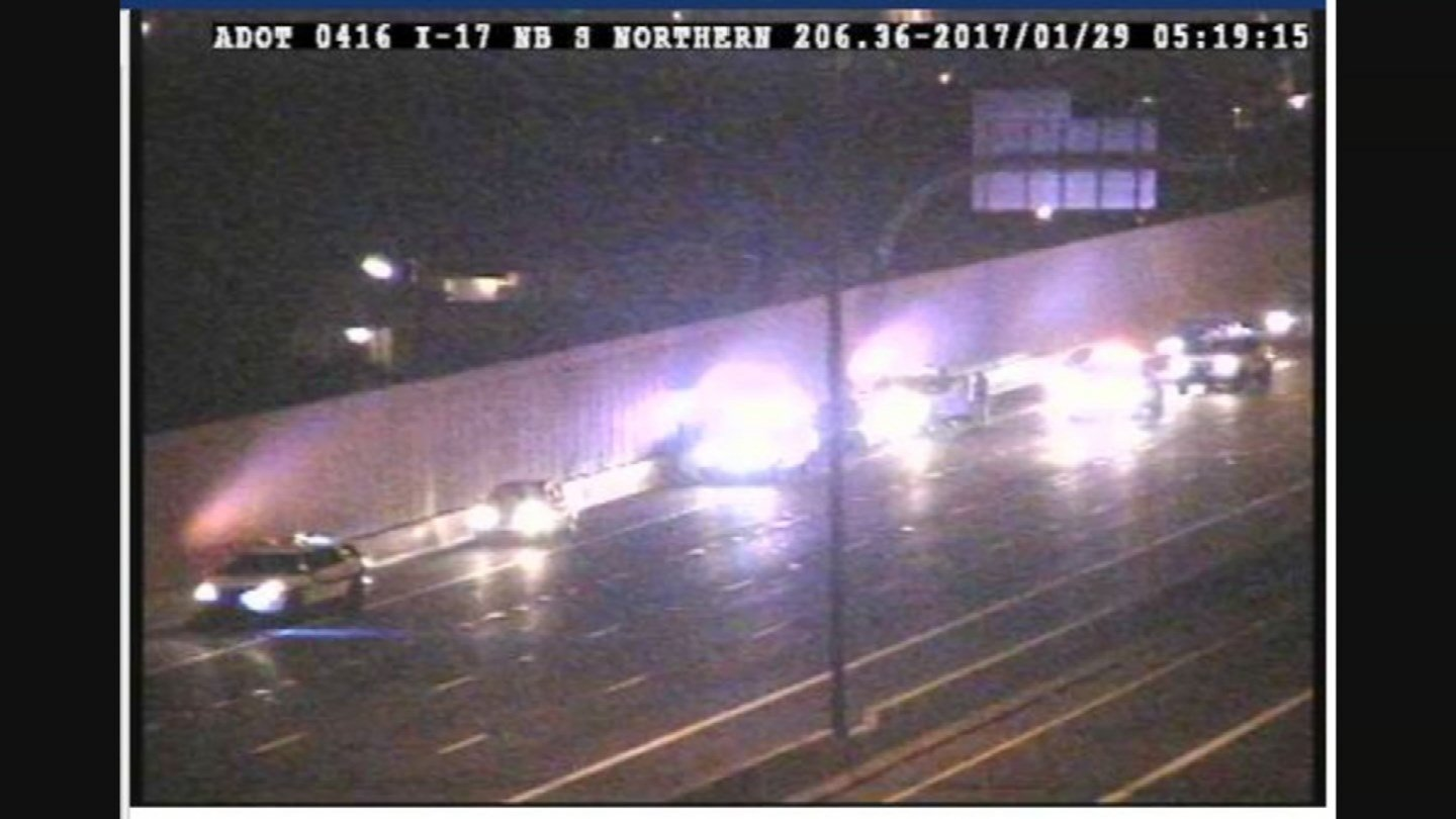 DPS was able to stop the wrong-way driver before anything tragic happened. (Source: ADOT)