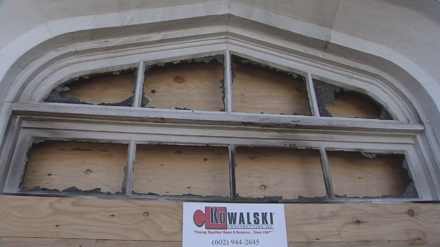 It could take months to repair the damage to the church. (Source: 3TV/CBS 5)
