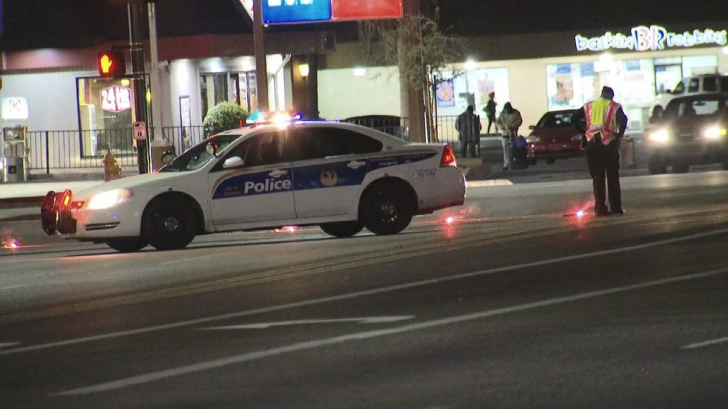 A jaywalker was hit and killed by a pickup truck driver in Phoenix. (Source: 3TV/CBS 5)