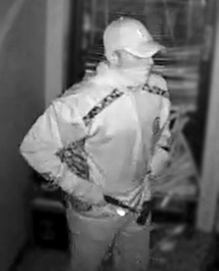 A surveillance image of one of the suspects in a burglary at a Phoenix business on Tuesday, Jan. 24, 2017. (Source: Silent Witness)