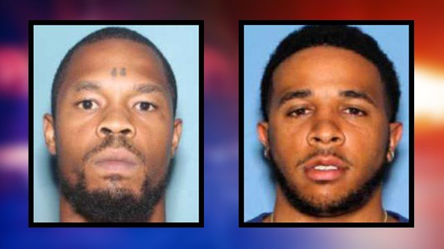 Police seek two suspects, Aasin Hart (left) and Jamel Moodie, in connection with the Jan. 29, 2016 homicide. (Source: Silent Witness)