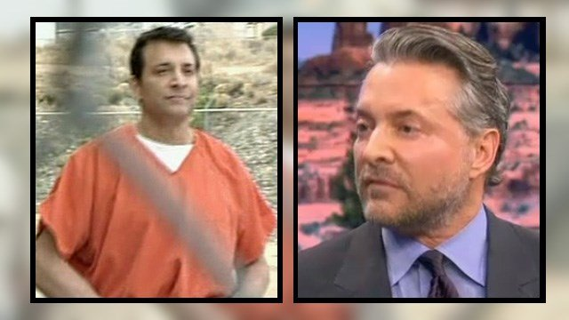 James Arthur Ray - then and now. (Source: 3TV/CBS 5)