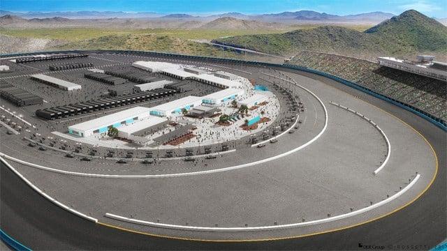 Artist's renderings of the modernization project at Phoenix International Raceway. (Source: PIR)